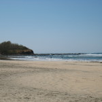 Playa Avellanas when the surf is calm. Nicoya (south of Tamarindo)