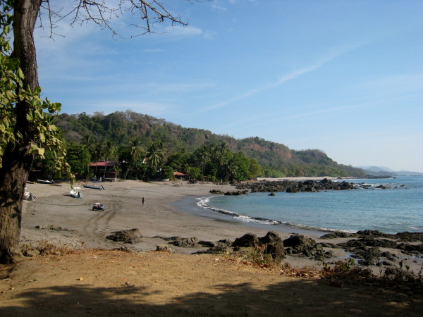 Playa Montezuma, east coast of the Nicoya peninsula near the tip