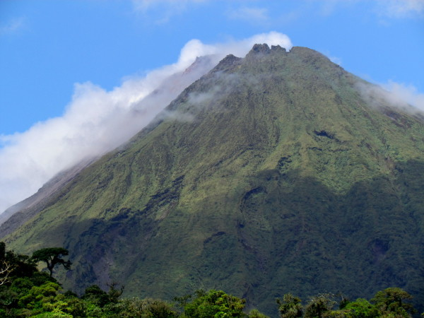 Volcan Arenal from the trail up Cerro Chato