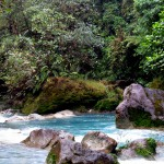 The startling Azure Río Celeste