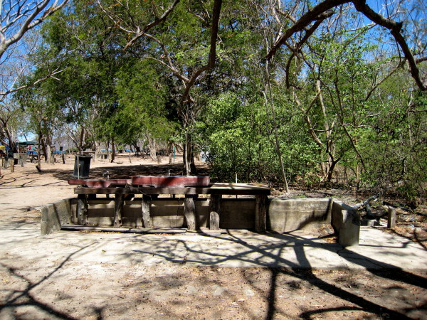 Camping area Bahía Junquillal National Wildlife Refuge