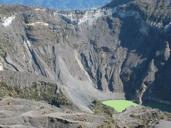 Crater lake, Irazu Volcano National Park, Costa Rica