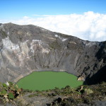 Crater Diego de la Haya, Irazu Volcano National Park, Costa Rica