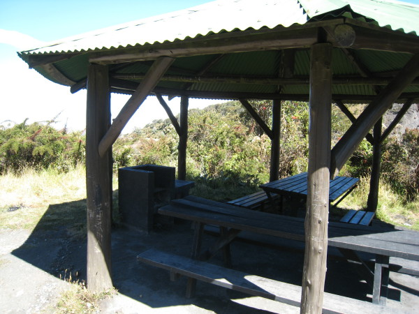Picnic area, Irazu Volcano National Park, Costa Rica