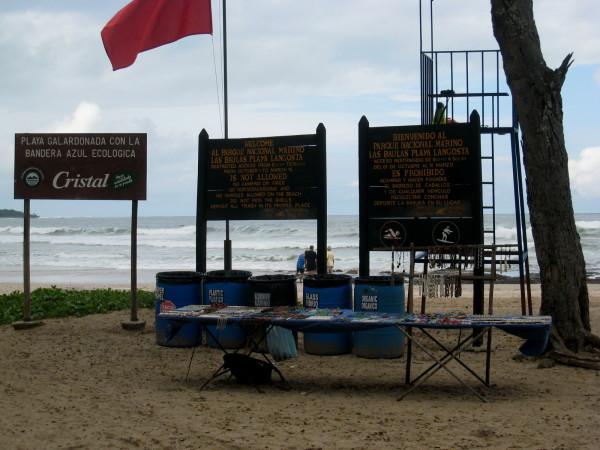 Playa Langosta Marino Las Baulas National Park