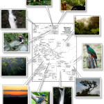 Monteverde Santa Elena photo map