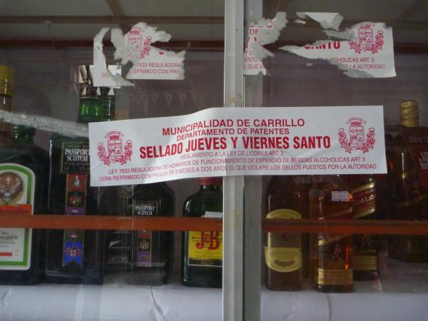 Prohibition Semana Santa