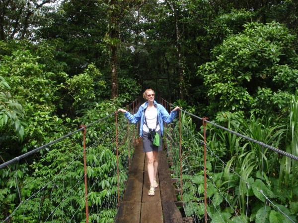 Bridge on the Sendero Tucanes