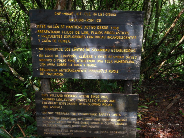 Welcome to Arenal volcano National Park