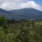 Each bungalow has a great view of the slopes of Volcán Tenorio and the National Park