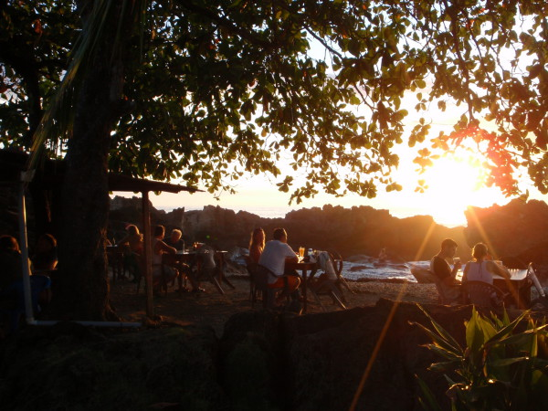 Sunset at the Piedra Mar