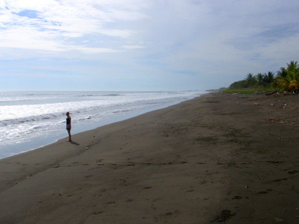 Portalon where playa Matapalo meets playa Savegre