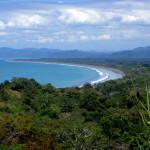 Playa Zancudo with Golfito Bay in the background