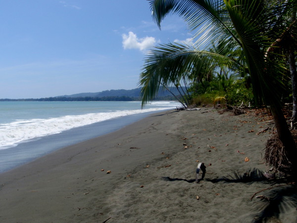 Playa Sombrero on the eastern edge of the Osa Peninsual