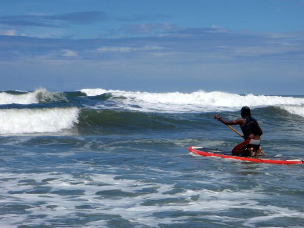 Stand Up Paddle Boarding Playa San Miguel central Nicoya coast