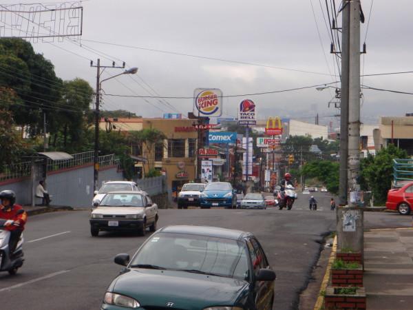 Fast foodin Costa Rica
