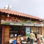 Monteverde dairy ice cream shop in Santa Elena