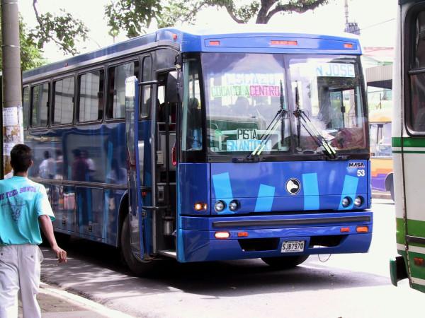 San Jose Public Bus