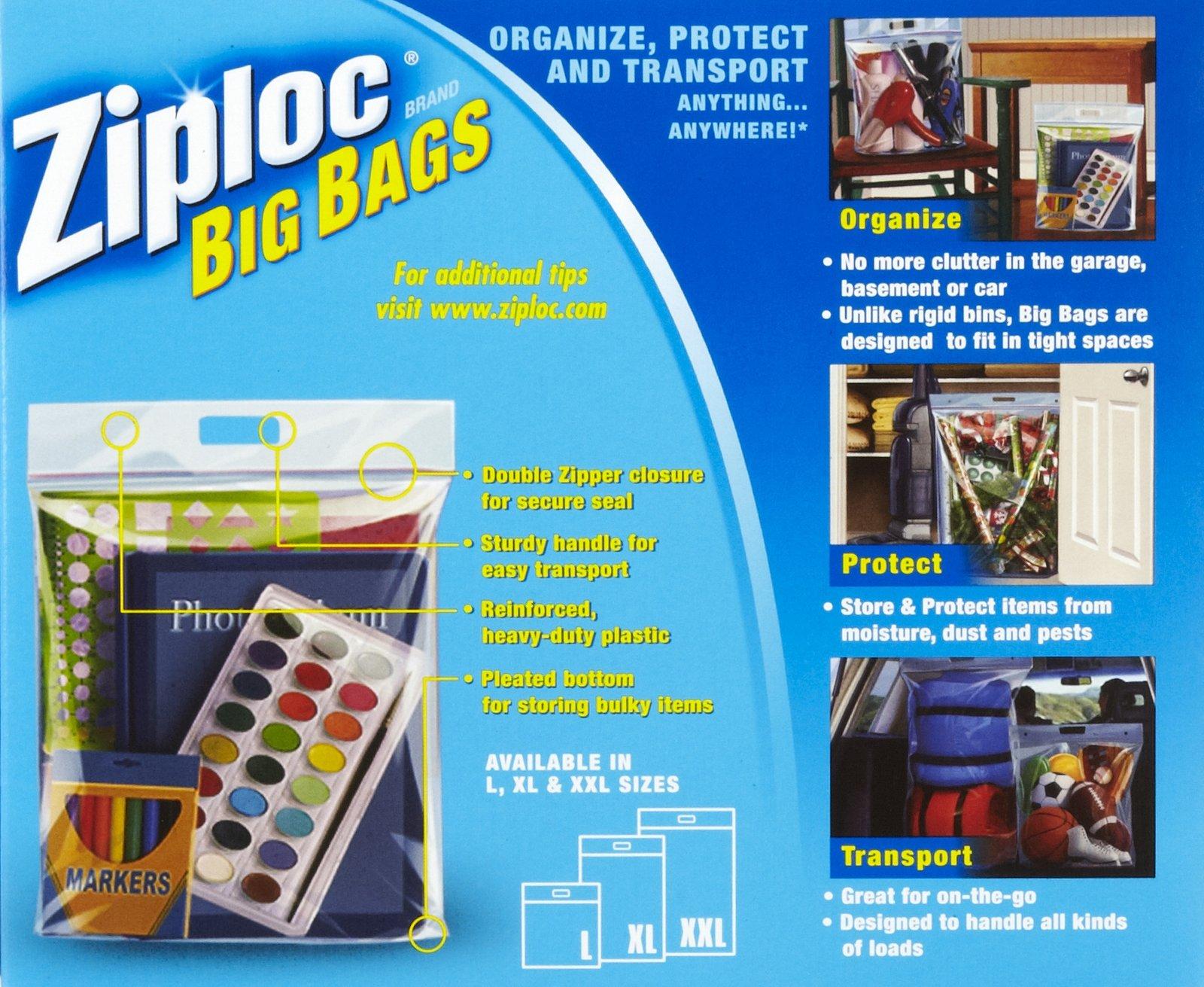 Giant Ziplock Bags For Travel