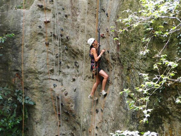 Rock climbing costa rica
