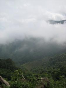 View over Jorcó valley from Casa Finca Rio Jorco