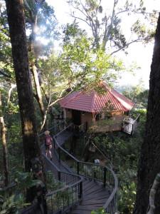 Tree house Rio Jorco