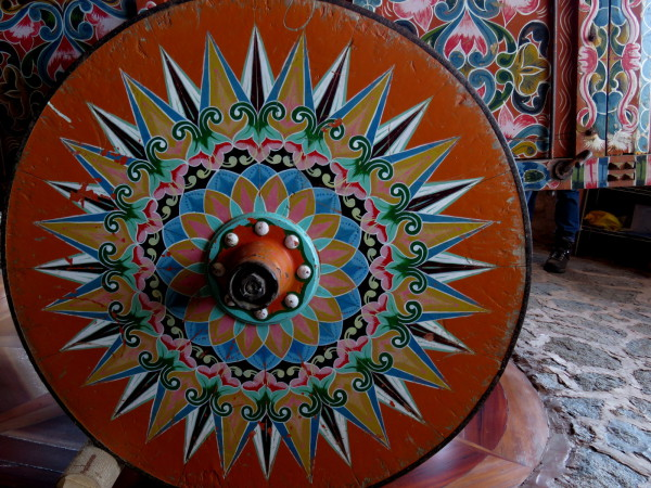 Ox cart wheel