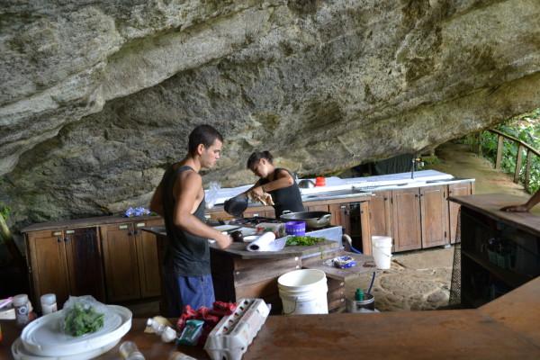 Casa Piedra kitchen