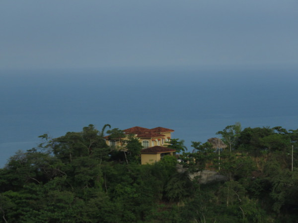 house on the hill above Tarcoles Costa Rica