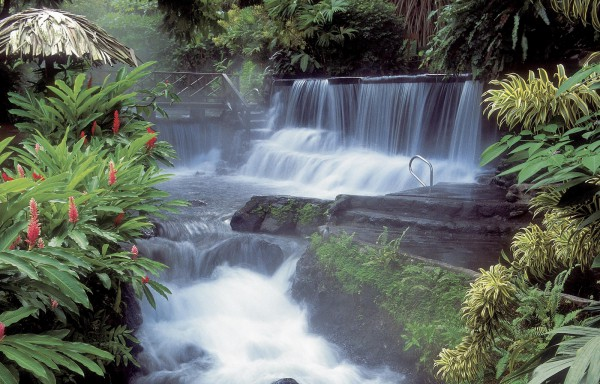 Hot Waterfall Tabacon Resort - Arenal