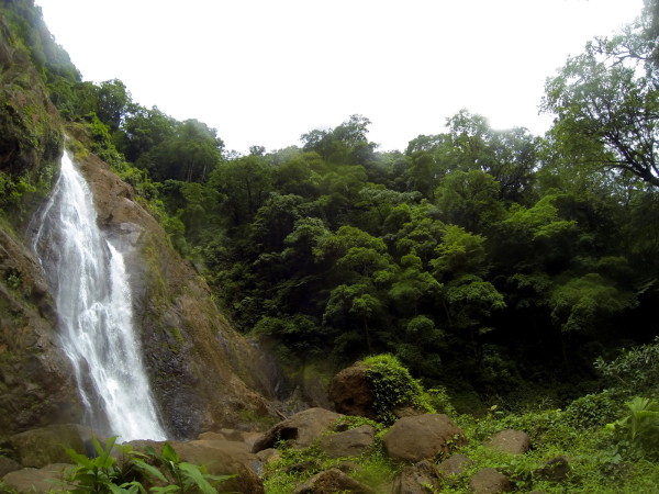 Bijagual waterfall