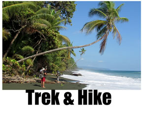 Hiking, trekking and backpacking in Costa Rica