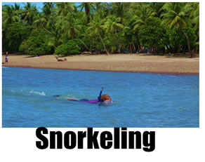 Snorkeling and scuba diving in Costa Rica