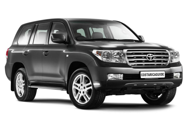 Toyota Land Cruiser is known as a Prado in Costa Rica