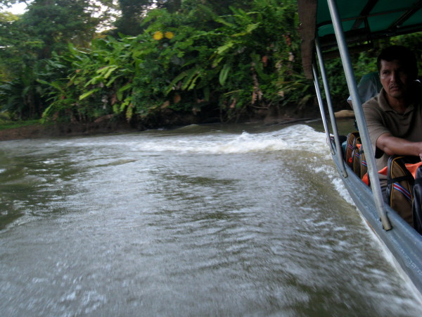 Collectivo water taxi Costa Rica