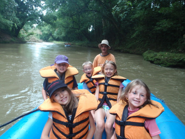 Safari float rafting rio penas blancas costa rica