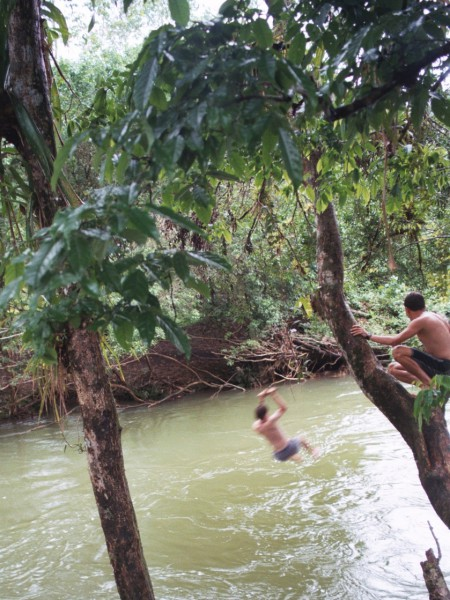 Rio Toro Costa Rica Rope Swing