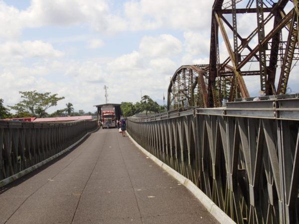 Sixaola Bridge Panama, Costa Rica Border