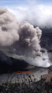 OVSICORI poas live camera june 6 eruption