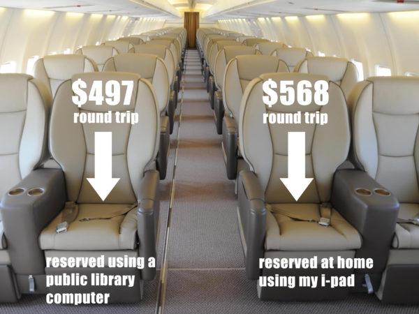 Airfare Dynamic Pricing Comparison