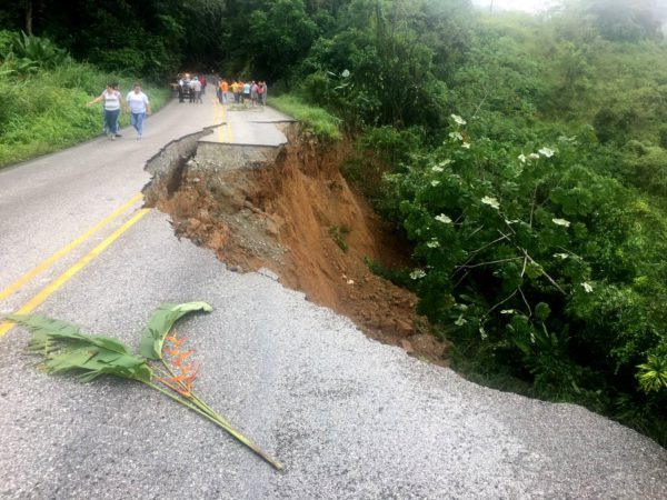 Pan American Highway Washed Out