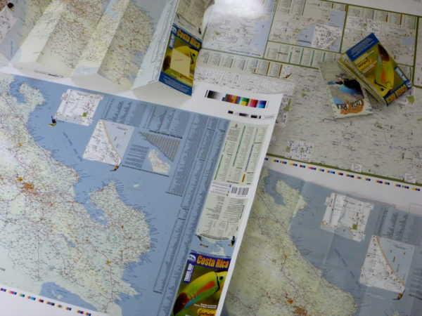 Printed Map Proofs