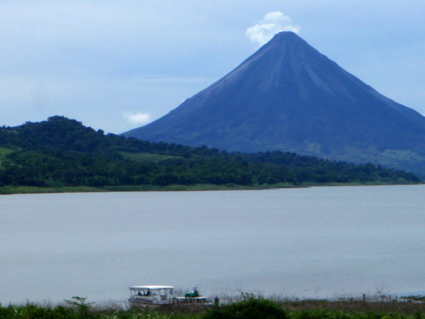 Arenal to Monteverde by boat