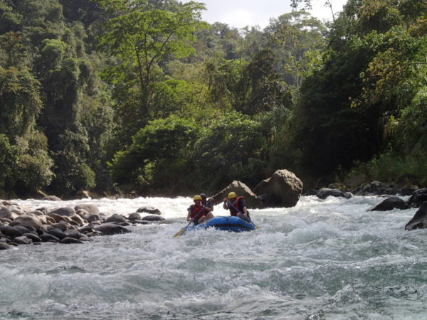 Pacuare river raft