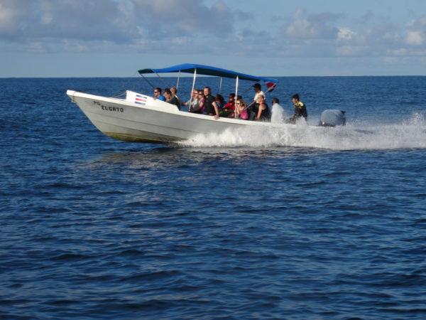 Passenger launch Costa Rica motor boat