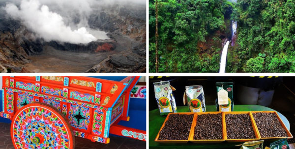 Coffee, Volcano and Waterfall Tour