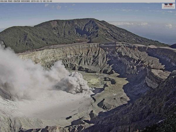 Poás volcano February 12 2019