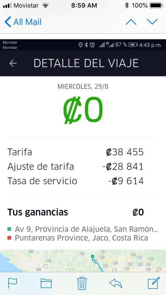 Uber Price Quote >> Uber In Costa Rica