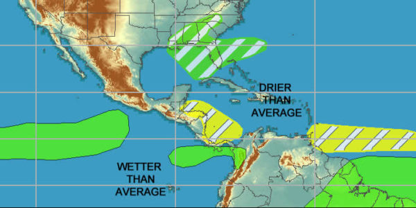 NOAA tropical weather prediction 20181123