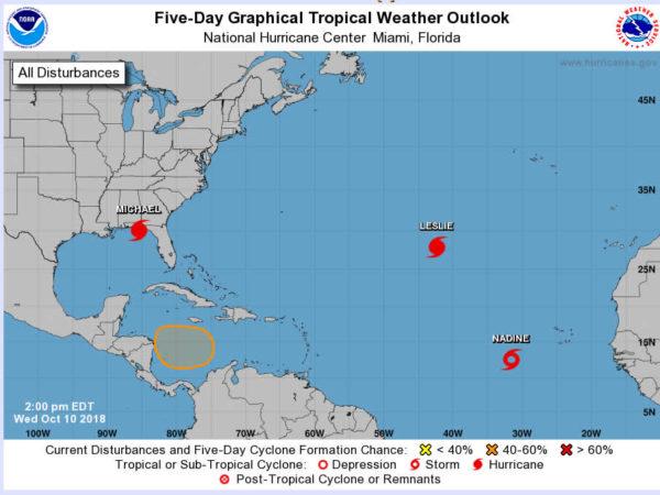 hurricane tropical storm map